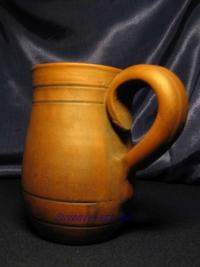 Кружка глиняная пивная.