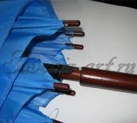 Внешний вид ручки зонта-трости.