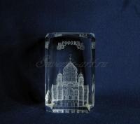 Храм Христа Спасителя в стекле. Сувенир.