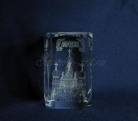 Храм Василия Блаженного. Сувенир с символикой Москвы.