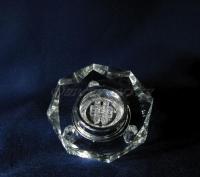 Стеклянная светодиодная цветопеременная подсветка восьмигранник