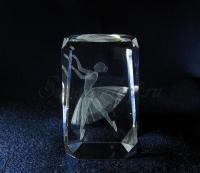 Балерина. Лазерная графика.