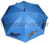 Зонт с самолётами КБ Сухого