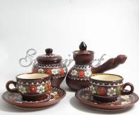 Набор кофейный с малыми чашками