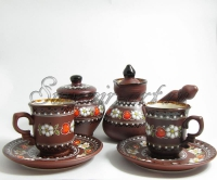 Набор кофейный с малыми кружками